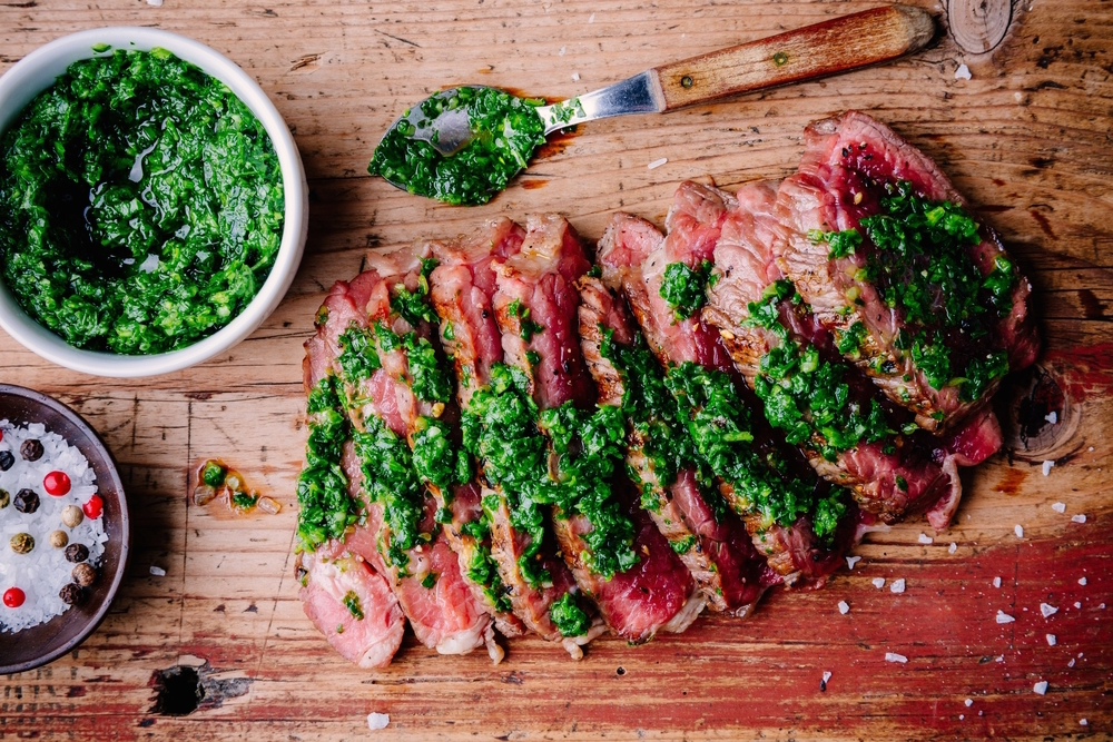 picanha met chimichurrisaus