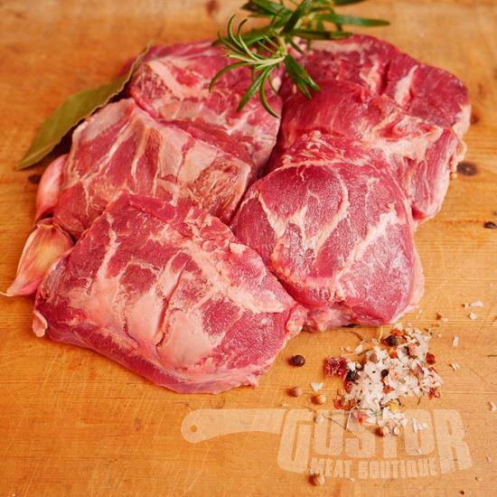 carrillada iberico, iberico varkenswangen, pata negra varkenswangen, joues de porc ibériquesBewerkVerwijder