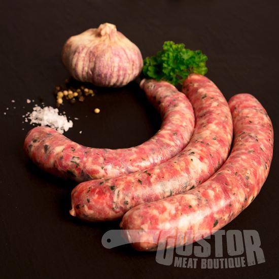 salsiccia al aglio e erba, gustor online