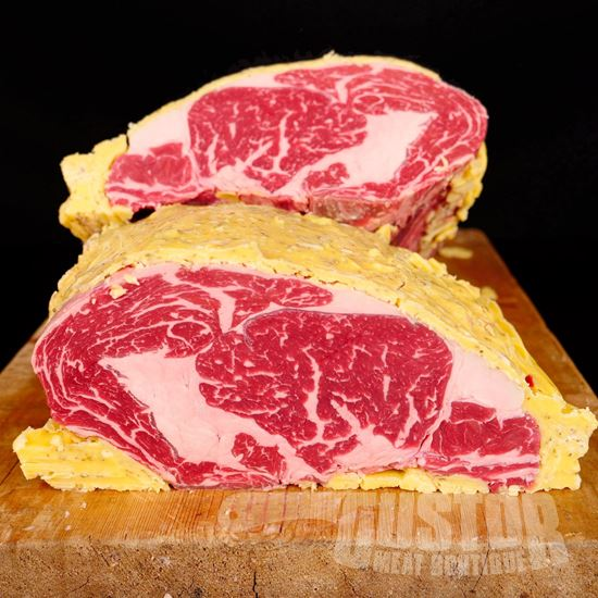 rib eye, holstein, butter rib eye