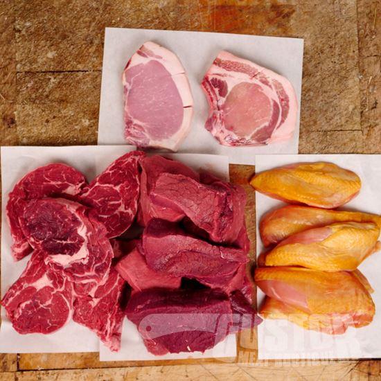 vleespakket, vleeswebshop, online vlees kopen, gustor