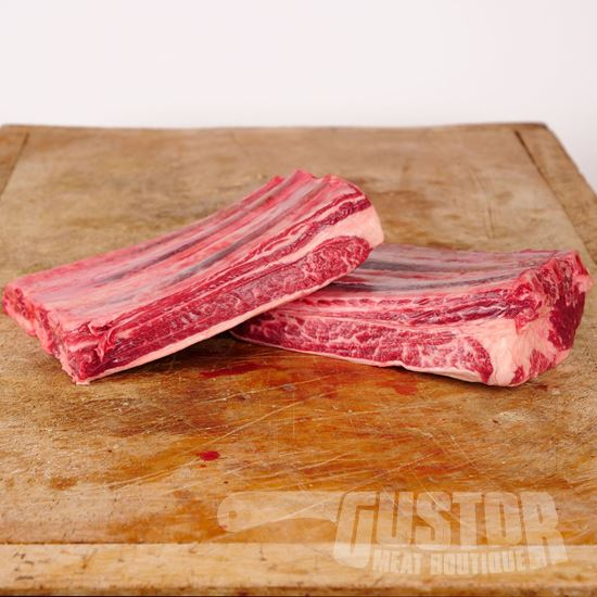short ribs, flat ribs, beef ribs